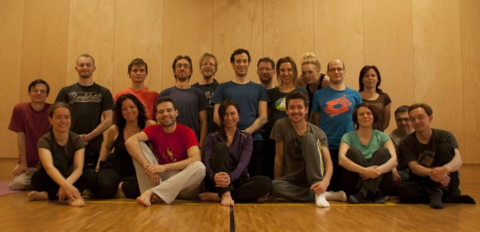 Yantra Yoga Course (Tsadul preliminaries and the 1st series of Yantras) with Jeff Sable, April 17 -19, 2015 in Prague, Czech Republic.