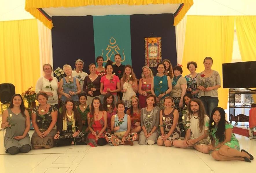 Level 1 Vajra Dance Teacher Training at Dzamling Gar, April 26 - 30, 2015