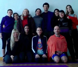 Beginner's Yantra Yoga with Letitia Recepter in Argentina