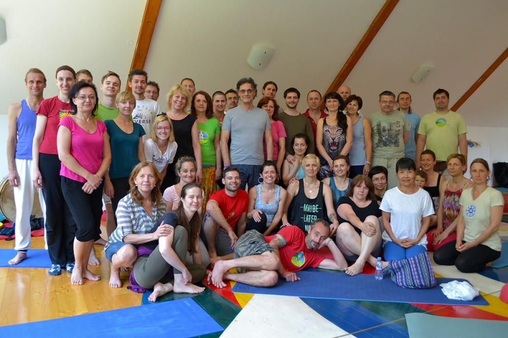 Kumbhaka Course with Fabio Andrico, June 5-7.2015, Phendeling, Czech Republic