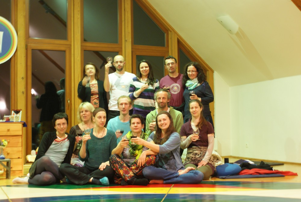 Intensive Retreat on Yantra Yoga and Vajra Dance with Zoli Cser, April 30 - May 3, 2015, Phendeling, Czech Republic
