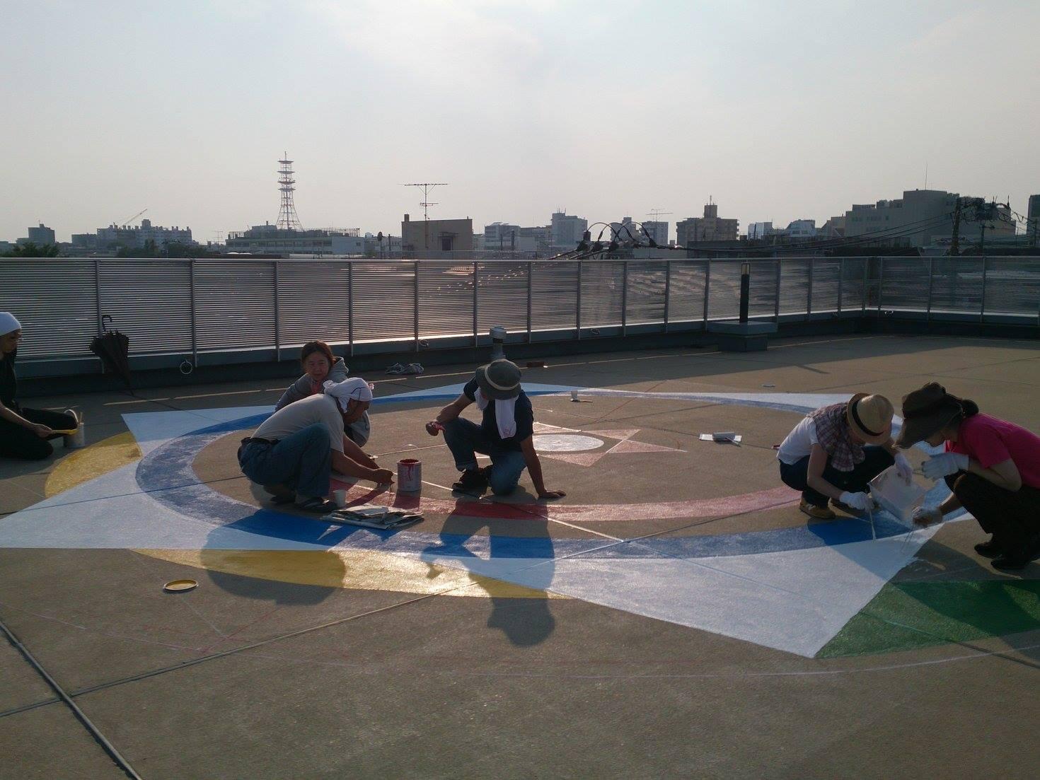 Making the Mandala in Tokyo