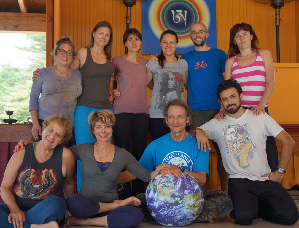 Yantra Yoga Intensive at Khandroling, August 10-15, 2015 with instructors Paula Barry, Martina Kacurova and Naomi Zeitz