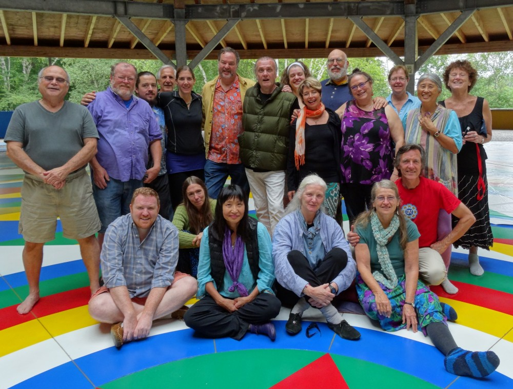Beginner's Song of the Vajra Dance Course with Kyu Kyuno and Carisa O'Kelly at the Mandala Hall, Khandroling, Buckland MA, from August 15 -23, 2015