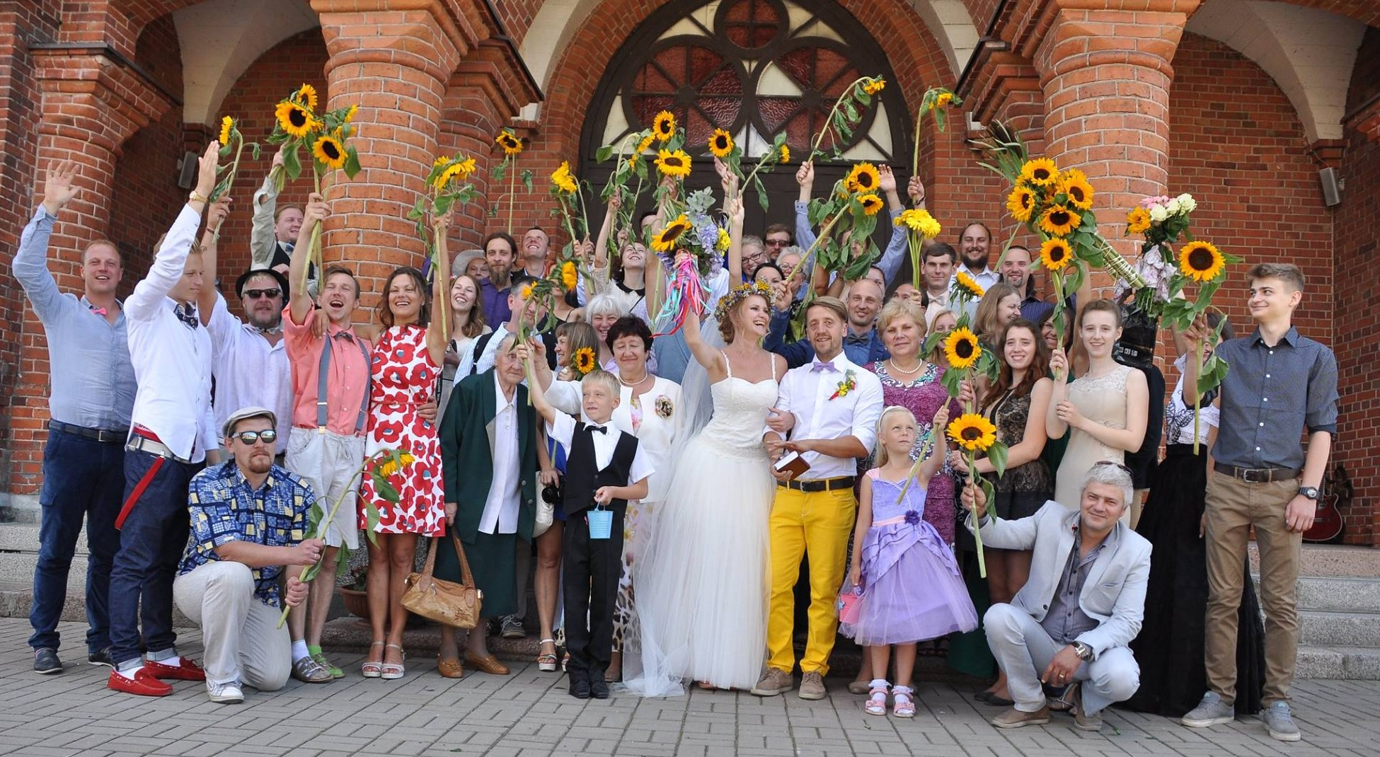 Married in Riga, Latvia on August 15, 2015 - Arnis Rupainis and Elizaveta Smirnova