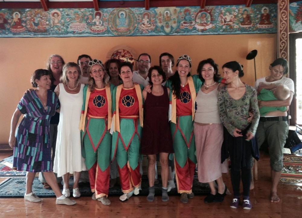 Vajra Dance 2nd Level at Merigar West with Prima Mai and Adriana Dal Borgo from August 5 -12, 2015