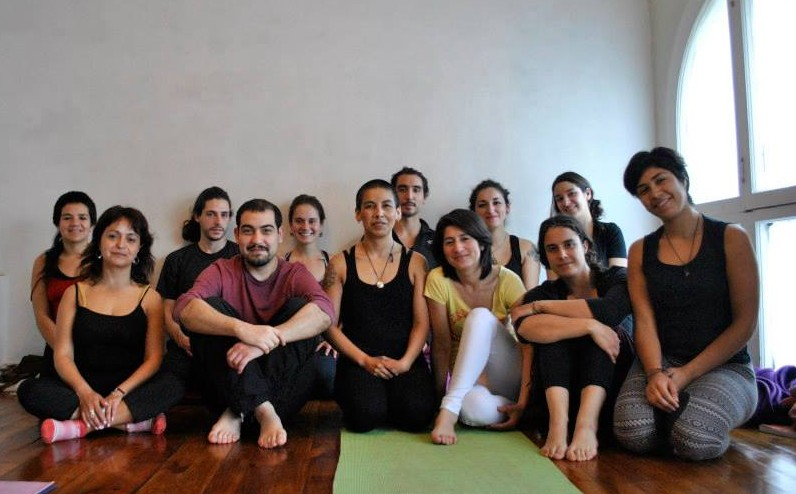 Open Level Intensive Seminar in Yantra Yoga for beginners Carolina Muñoz at Yoga Sadhana, Valparaíso, Chile on August 29 and 30, 2015 Photo: Nicole Lopez