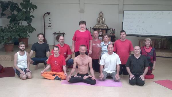 The second Harmonic Breathing course with Zoltán Cser in October, 2015