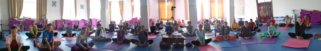 Kumbhaka with Fabio Andrico from October 8th to 12th in Samtengar, China