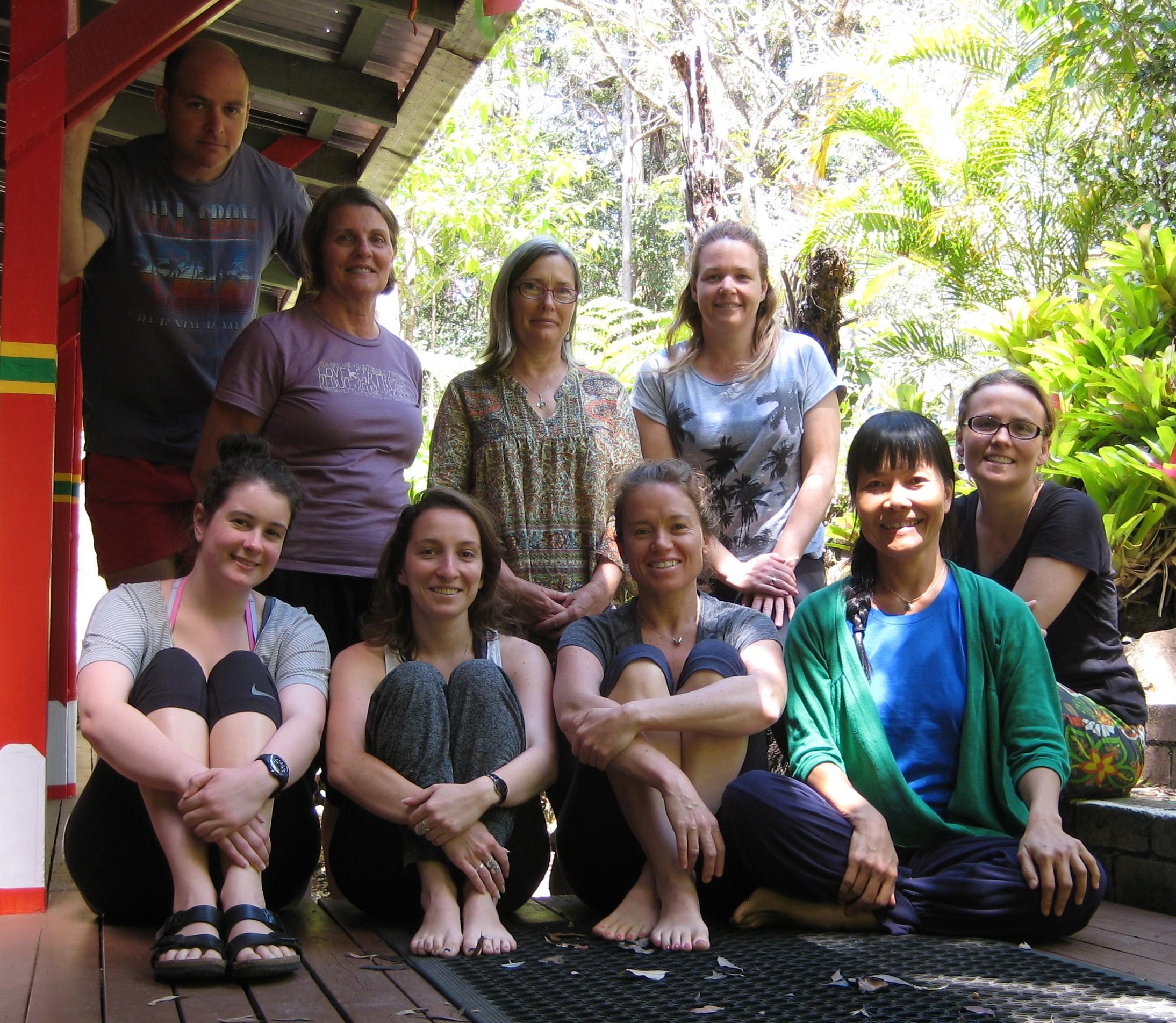 Yantra Yoga weekend course at Chenrezig Institute, Eudlo, QLD, Australia- Oct 3-4, 2015 with Oni McKinstry.