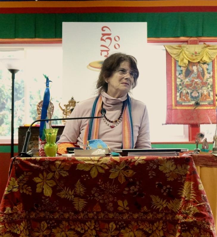 Nina Robinson at Mandarava Retreat Photo by: Paula Barry