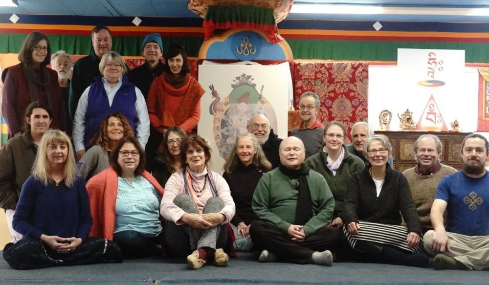 Mandarava Retreat with Nina Robinson at Tsegyalgar East, November 9-15, 2105 Photo by: Paula Barry