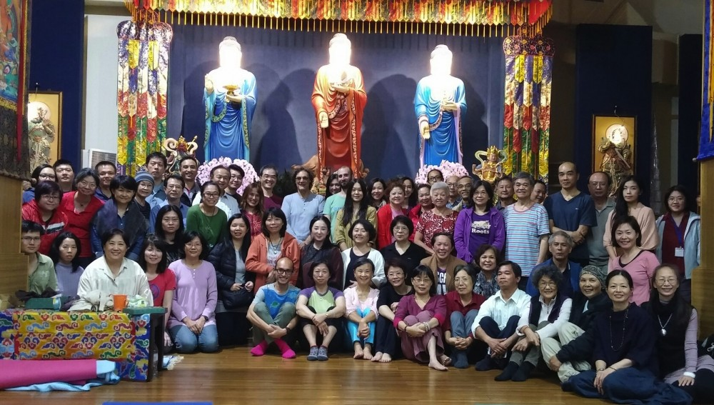 From October 28th to 30th, 2015 a course in the Eight Movements and from October 31st to November 3rd, 2015 a course in Kumbhaka, both with Fabio Andrico in Taipei.