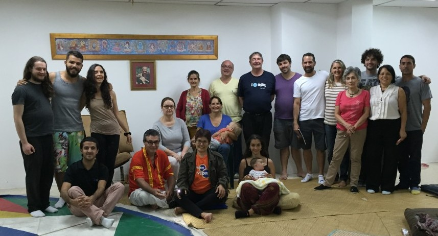 A Santi Maha Sangha Base Level Retreat at Dekyitling in Costa Rica with Jim Valby from December 4-8, 2015