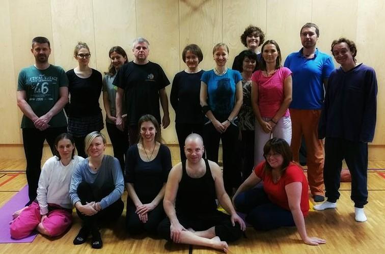 Yantra Yoga Beginners Course with Jiri Mravec (Medved), November 27-29, 2015, Kunkyabling, Prague