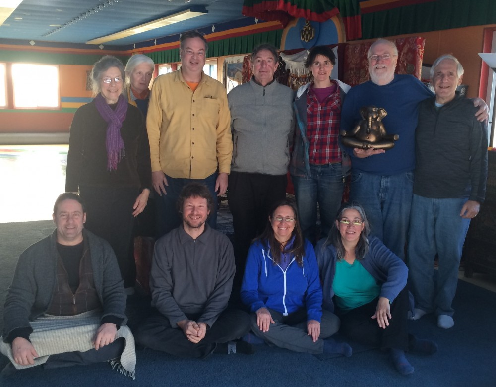 Second Level Santi Maha Sangha with Jim Valby November 27-29,2015 at Tsegyalgar East