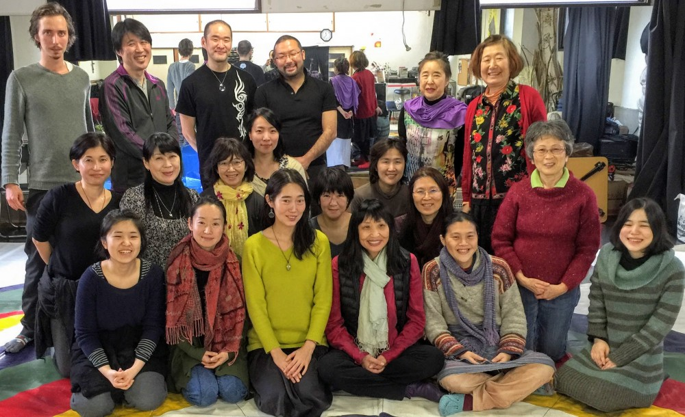 Vajra Dance Courses in Japan: November 2015 - January 2016, Song of Vajra Dance for Beginners in Tokyo and the Vajra Dance that Benefits Beings in Kobe and Tokyo with Kyu