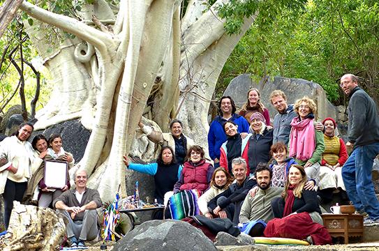 Mandarava Retreat with Nina Robinson at Tsegyalgar West, Baja, Mexico from December 27, 2015 to January 2, 2016