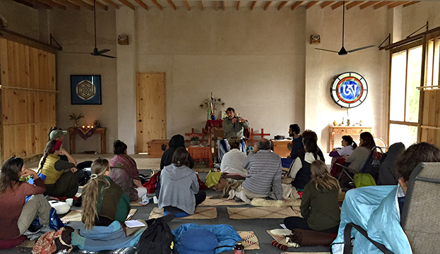 Maha Yoga Inside Dzogchen with Jim Valby at Tsegyalgar West, Baja, Mexico from December 17-21. 2015