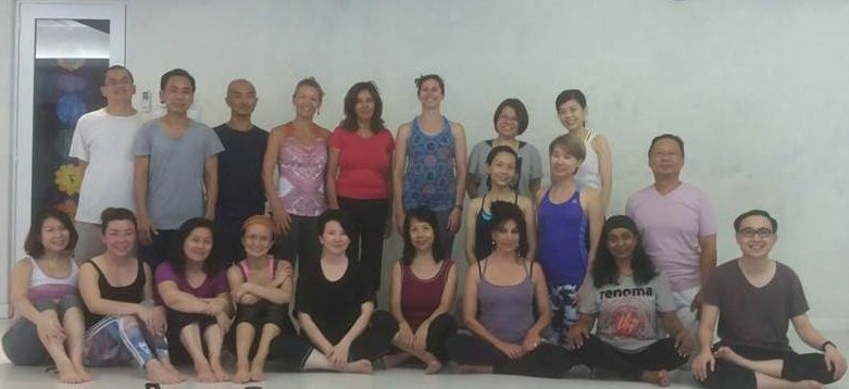 Kuala Lumpur - Retreat from  January 23-24, 2016, Yantra Yoga beginners  (open course). We worked specifically on the tsijong, the 8 Lungsang and Pranayama of the  Rhythmic Breathing.