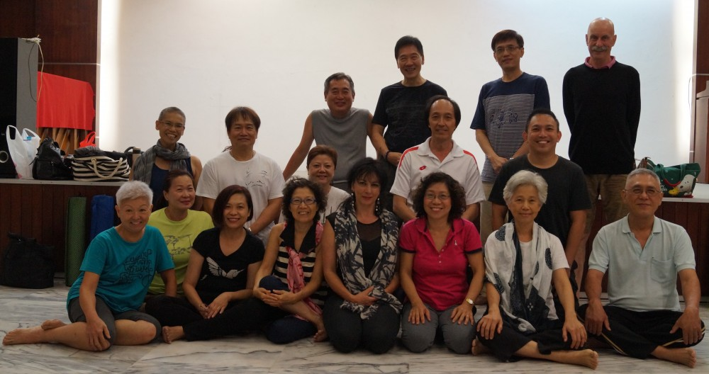 Singapore - Retreat from January 18-20, 2016, Breathing and the Harmony of Breathing in order to introduce soft Kumbhaka and the Pranayama of the Rhythmic Breathing for training Kumbhaka.