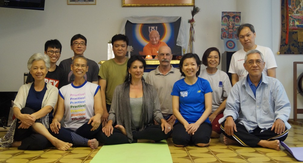 Singapore - Retreat from  January 15-17, 2016, Introduction to Yantra Yoga, open course.