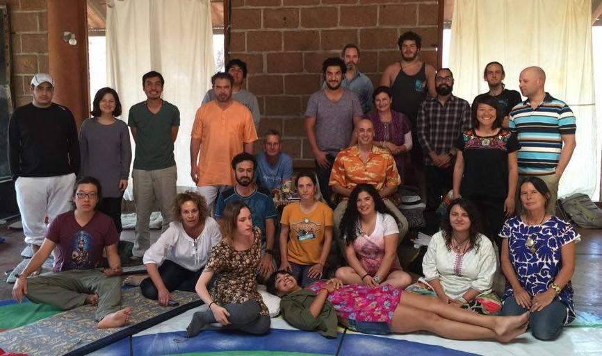 Dream Yoga with Michael Katz February 18-21, 2016 at Pelzomling, Mexico City