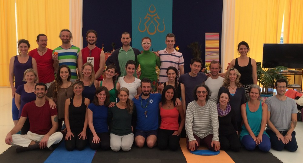 Yantra Yoga Second Level Advanced and Teacher Training with Laura Evangelisti and Fabio Andrico from February 25-29, 2016 at Dzamling Gar