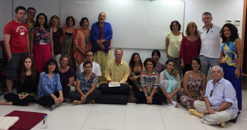 Santi Maha Sangha Course in Rio de Janeiro, Brazil with Steve Landsberg called Beyond Hope and Fear: Applicaion of Presence from March 4-6, 2016