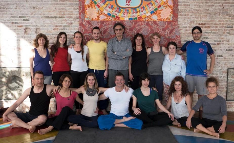Eight Movements Teacher Training in Barcelona with Fabio Andrico