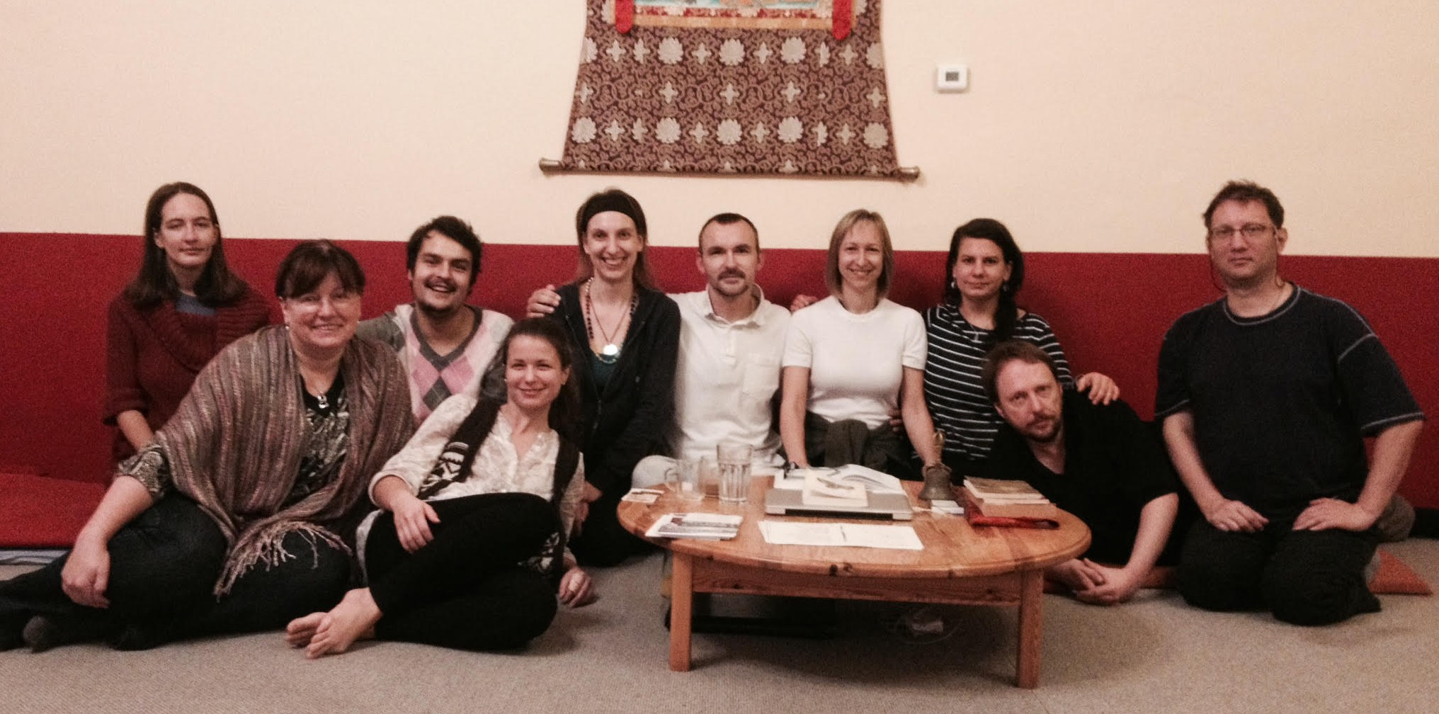 A Course  of The Relative Bodhicitta with Lukas Chmelik  that was held in Phendeling November 11-13, 2015