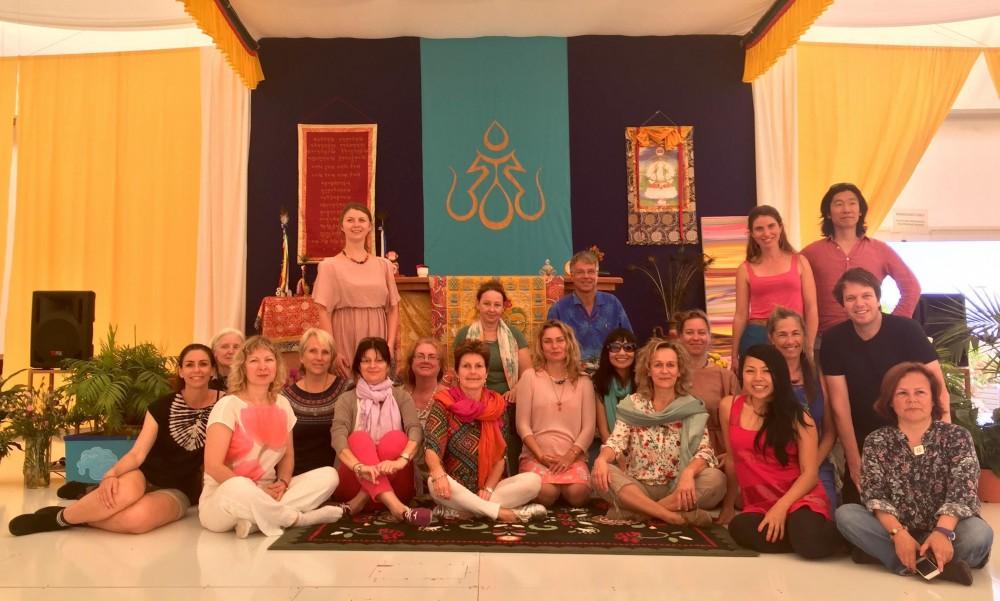 Vajra Dance Teachers Meeting at Dzamling Gar, Tenerife Island, Spain, April 4-5, 2016