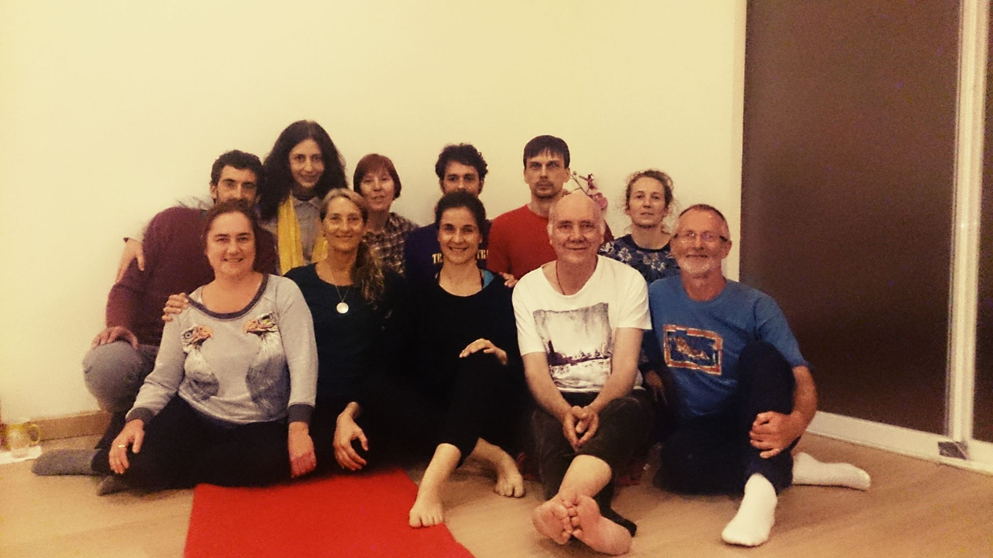 2nd Level of Yantra Yoga supervision of the 3rd series with Raquel Diaz by Laura Evangelisti in Madrid, April 8-10, 2016.