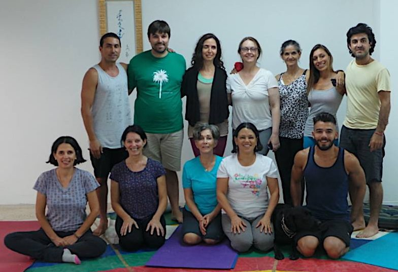 A course on Complete and Harmonious Breathing with Marisa Alonso at Dekyitlinyg from April 13 to 15, 2016 and then on April 16 we added a special day on Kumbhakha, for those who did the previous course and were Community members.