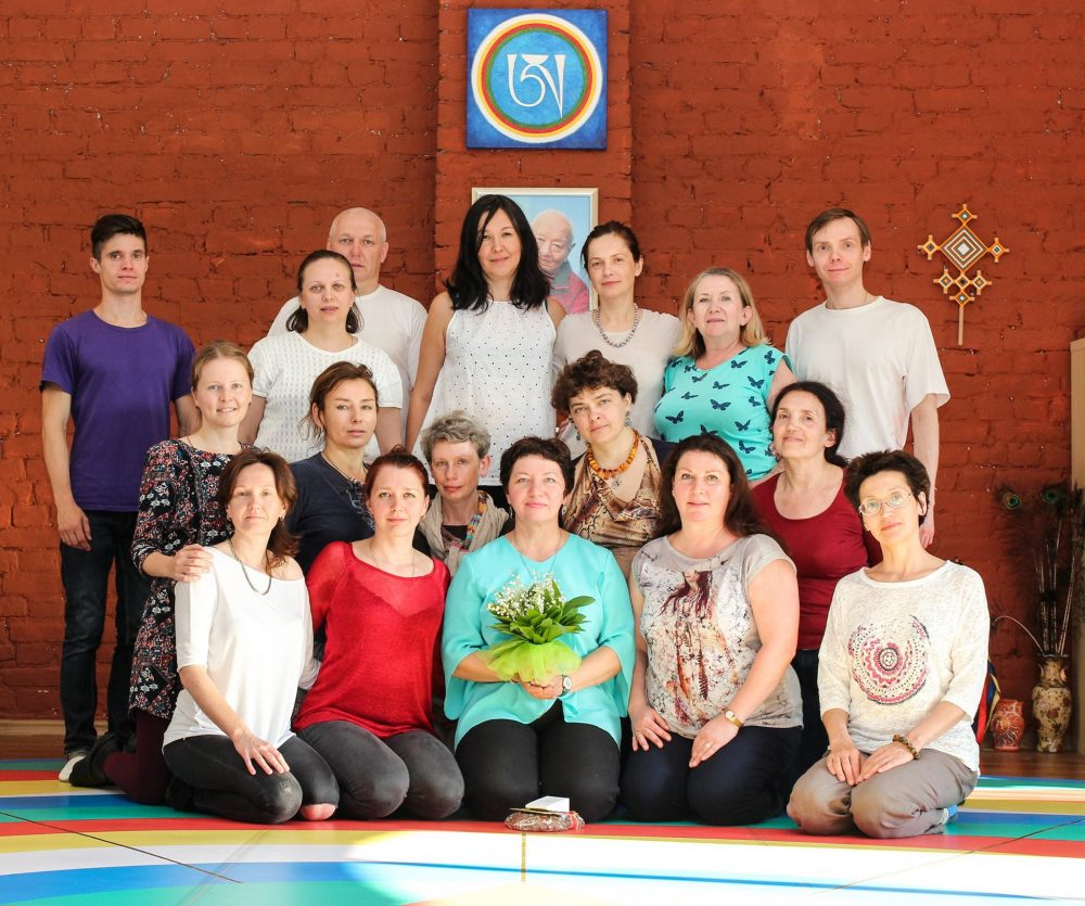 Vajra Dance refresher course in Saint-Petersburg (Sangyeling) of The Dance of the Song of the Vajra on May 21-23 and 27-29, 2016, led by Ulyana Sokolova, 2nd level Vajra Dance instructor