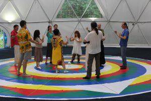 Vajra Dance Presentation at Kunsangar North