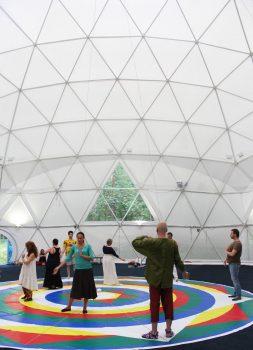 Vajra Dance on the Mandala