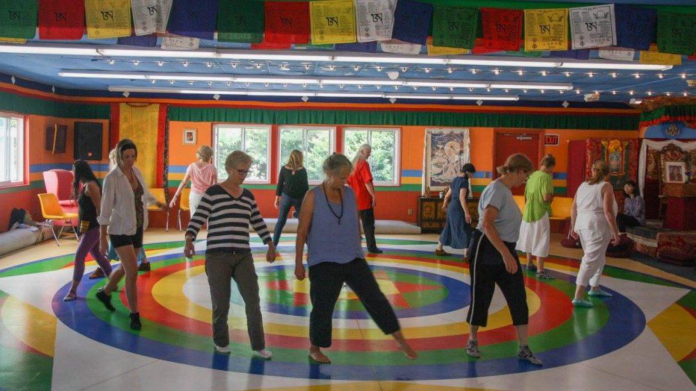 Learning Vajra Dance