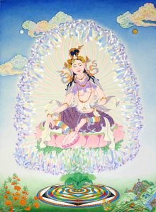 Goma Devi thangka by Ans