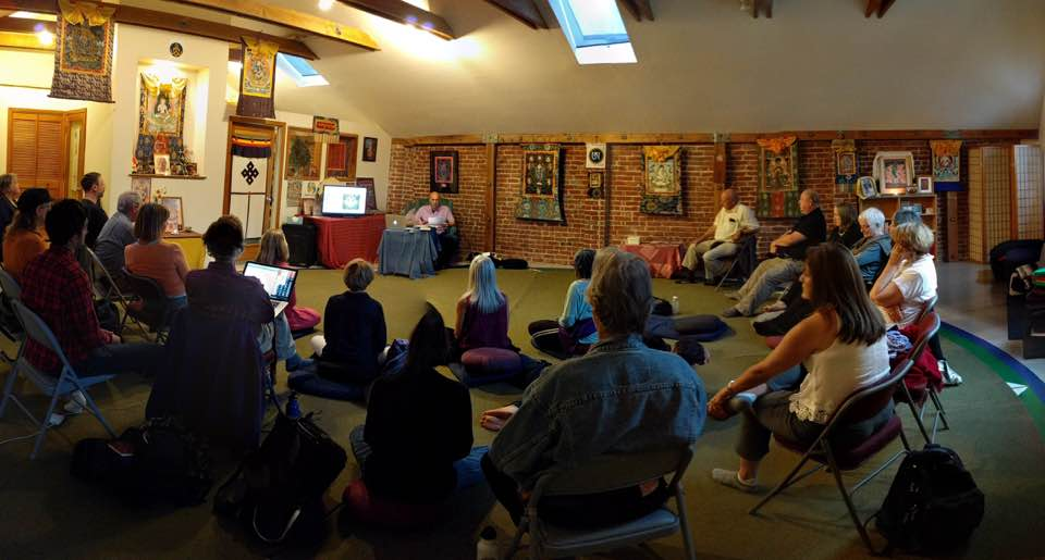 Public Talk with Michael Katz at Dondrubling, Berkeley, CA on July 15th, 2016