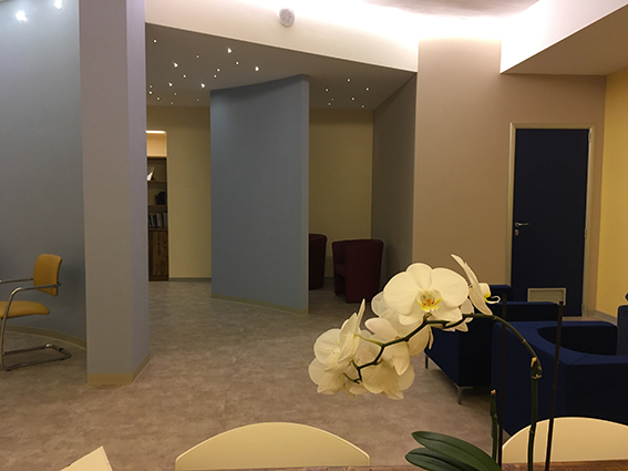 Image of the 'Room of Silence' at the Siena Hospital
