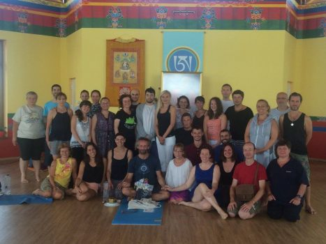Participants at the Bardo, Death and Impermanence Retreat