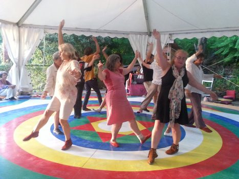 dancing on the mandala