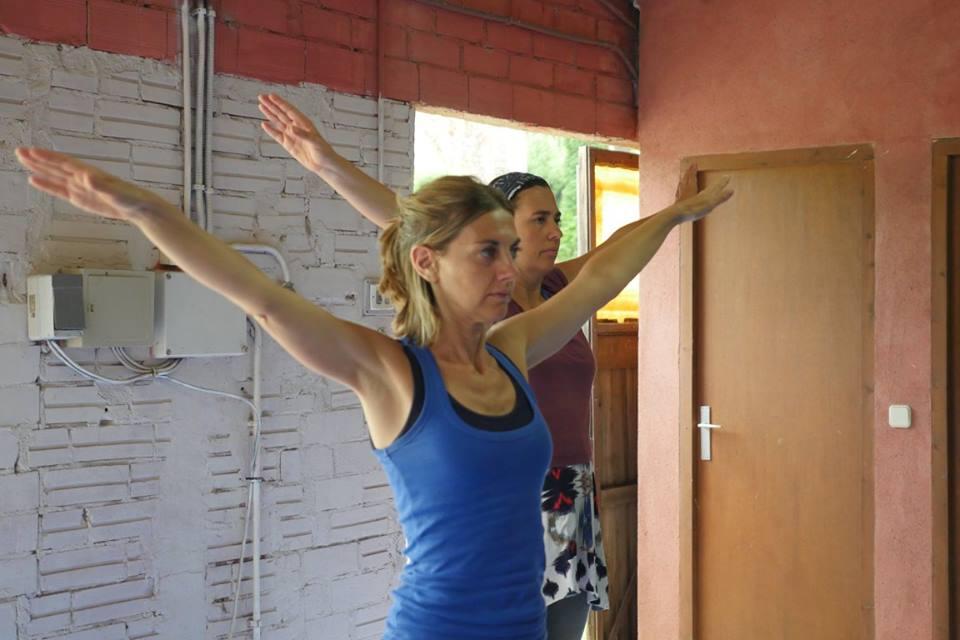 Instructors Gloria (left) and Carla (right)
