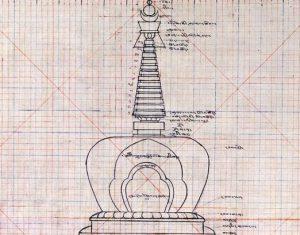 Complete Victory Stupa in Estonia