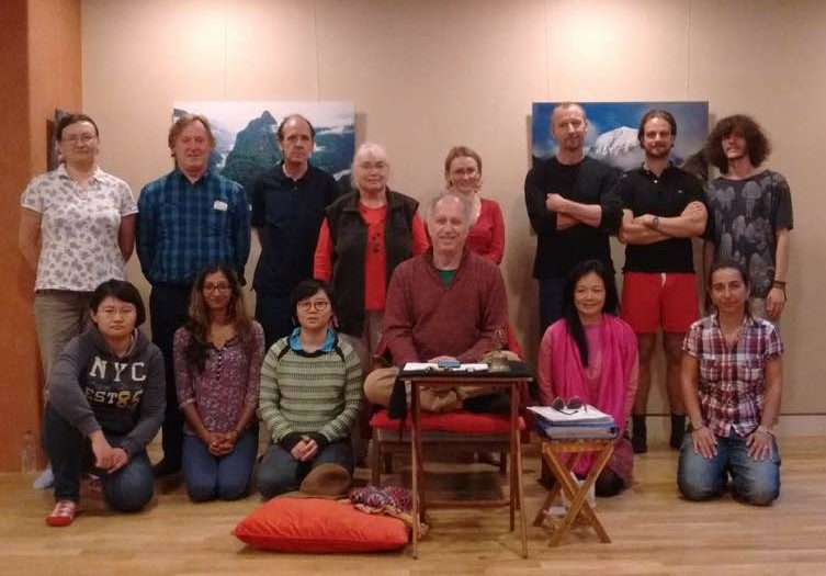 Purification of the Six Lokas Retreat with Steven Landsberg at Lekdanling, London, UK from September 9th -11th, 2016.