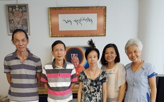 From left to right: Choon Beng, Yan Tee, Kum Har, Carol and Yi Hui. Our President Chee Teong was absent.