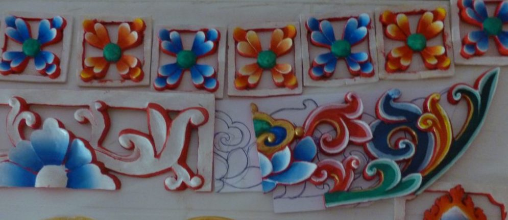 various Tibetan style decorations