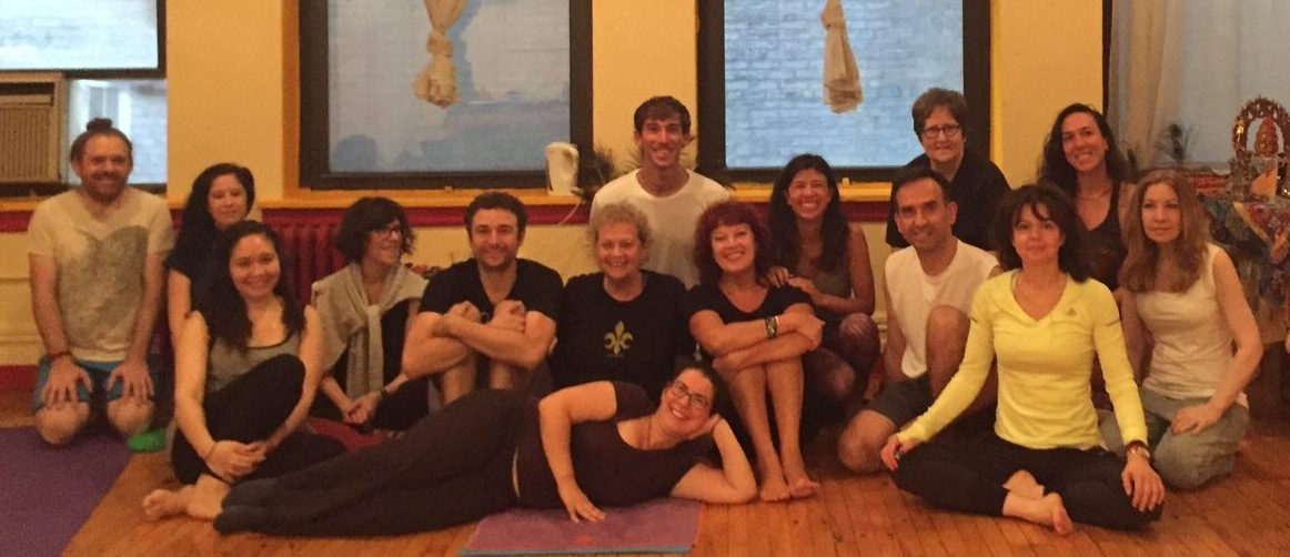 Yantra Yoga Introduction at Kundrolling, NYC, from September 24-25, 2016 with Naomi Zeitz assisted by Curzio Aloisi