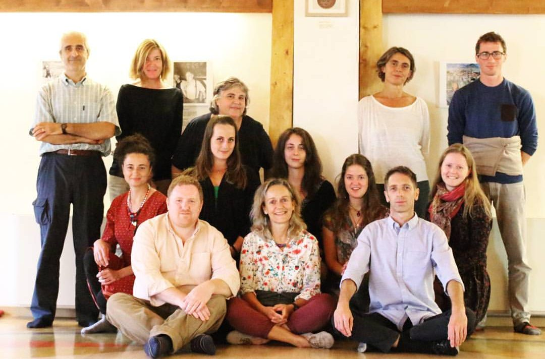 Course of the Vajra Dance that Benefits Beings at Merigar West, Italy, September 23-25,  2016. The supervision Jacek Przyjemski and Ed Hayes by Prima Mai.